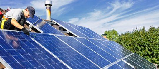 Achat et installation de panneaux photovoltaïques