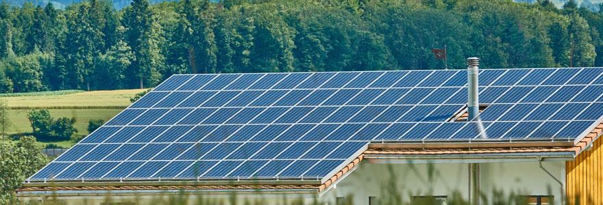 Panneau solaire maison